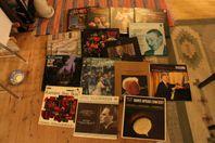 LP-skivor klassiska i mängder