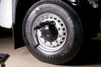 Lossa dina hjulbultar, Lastbil och buss