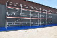 Altrad Assco 15mx6m alu byggställning 35700:-