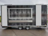 Uthyres försäljningsvagn foodtruck matvagn foodtrailer