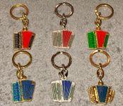 Nyckelringar med dragspel & durspel