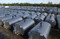Mjölktank kyltank vattentank transporttank