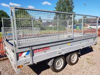 UTHYRES - Stort gallersläp totalvikt 1400 kg