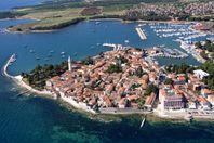 Strandnära lägenhet i Kroatien (Istrien) med havsutsikt