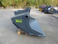 Ny Planerskopa 900L med Grävfäste S70