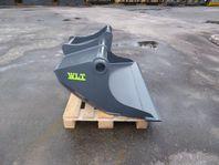 Planerskopa WLT PL350 med Grävfäste S45
