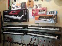 Keyboards från 699:- tillbehör till bra pris