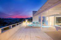 Penthouse med egen pool