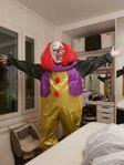 UTHYRES - Läskig Clowndräkt