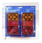 Bakre Vagnsbelysning - LED - 2-pack