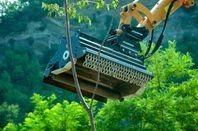 Nya Slaghackar / Betesputsar för grävmaskiner