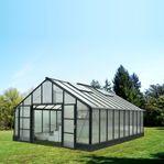 Växthus 36,8m² Premium - Hög nockhöjd - REA