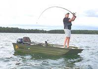 """""""NYHET"""" Ny sportfiskebåt från Oskwig, Perch"""