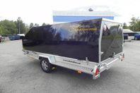 3s Alutrailers P400 Bromsad aluminiumsläpvagn