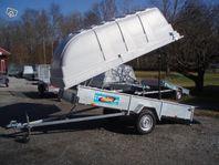 Majava obromsad släpvagn med eller utan kåpa