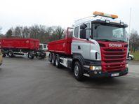 Scania R480 8x4*4 Kassettekipage