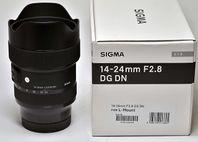 Sigma 14-24/2,8 DG DN Art L-mount