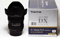 Tokina AT-X Pro 11-16/2,8 DX Nikon