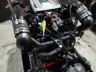 Mercruiser 350 MPI Komplett katalysatormotor