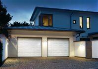 Garageport 2500 x 1900 - Med motor & fjärr