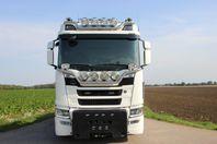 Scania R580 B8X4*4NB 24T Växlare Tridem PLOGBIL