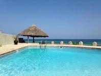 Strandvilla vid Indiska Oceanen i Kenya