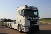 Plogbil Scania R650 B8X4*4NB Tridem 24T Lastväxlare