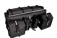 Slitstark packväska för ATV i svart