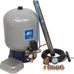 Komplett pump pkt SQE-paket, 1x230 V med med glasfiber tank