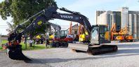 Volvo ECR 235 E, Uthyres