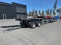 Hakarps - 38 tons lastväxlarvagn med hydraulisk skjutkolv