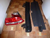 Saab 9-3 bakljus,Nätgrind Saab 9-5, Opel astra insynsskydd