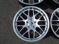 "BMW 19"" Atomic CSL Silver 5/120 FRI FRAKT"