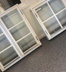 Fönster Kopplade kittade- 1+1Glas -i lager