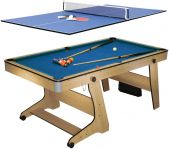 Biljardbord Folding Pool Plus Bordtennisskiva