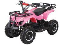 ATV BARNFYRHJULING EL MED LASTGALLER, 800W, r