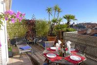 Nice, en härlig lägenhet med fantastisk terrass