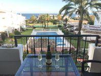 Fin lägenhet vid havet på Costa del sol