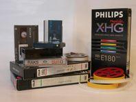 Videoöverföring och Smalfilm till DVD/USB