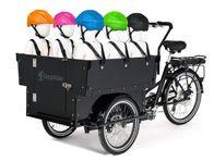 Cargobike Kindergarden Electric för 6-barn
