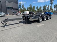 Hakarps - Lastväxlarkärra dubbelhjul omgående leverans