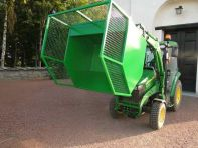 K-vagnen container/frontlastare
