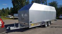 3s Alutrailers E500-BW robust Entreprenadsläp