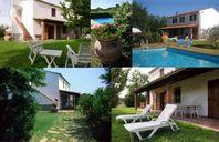 Toscana, eget hus med pool nära havet