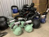 Komplett gym massa grejer