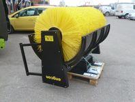 Engcon hydrauliska sopvalsar för grävmaskin