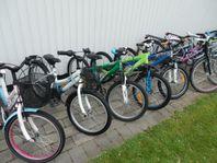 Ca 250 begagnade cyklar