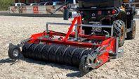 Ridbaneharv för fibersand och ATV - gummivals