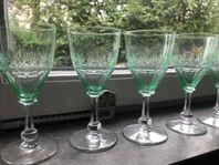 Glas -gröna