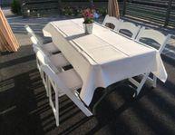Uthyrning bord/stolar, bröllop,student,fest